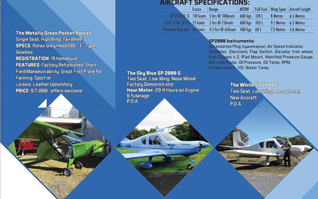 Current ALW Aircraft For Sale