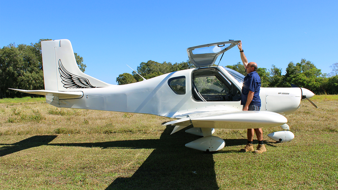 Australian LightWing SP2000 – 2 seat; Nose Wheel, Low Wing Light Sport Aircraft