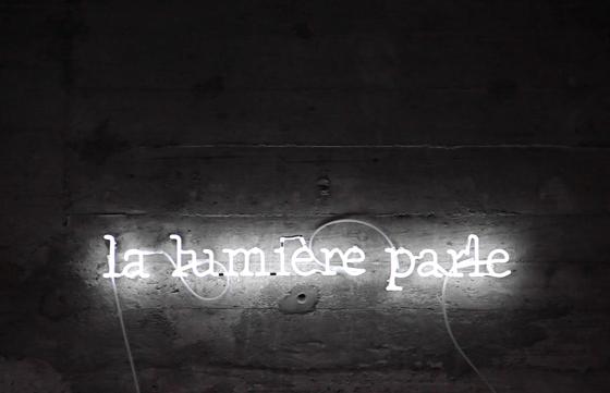 La lumière parle, 2008 - Eric Michel chez Le Corbusier Passeur de lumière, Couvent de la Tourette - Photo Vincent Laganier