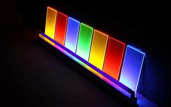 Seven Keys, 2005 - Éric Michel chez Le Corbusier Passeur de lumière, Couvent de la Tourette - Photo Vincent Laganier