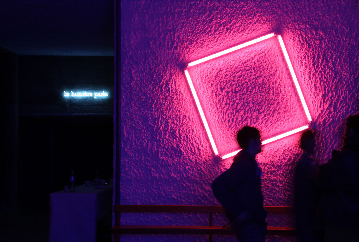 Fluo Pink Square, 2012 - Eric Michel