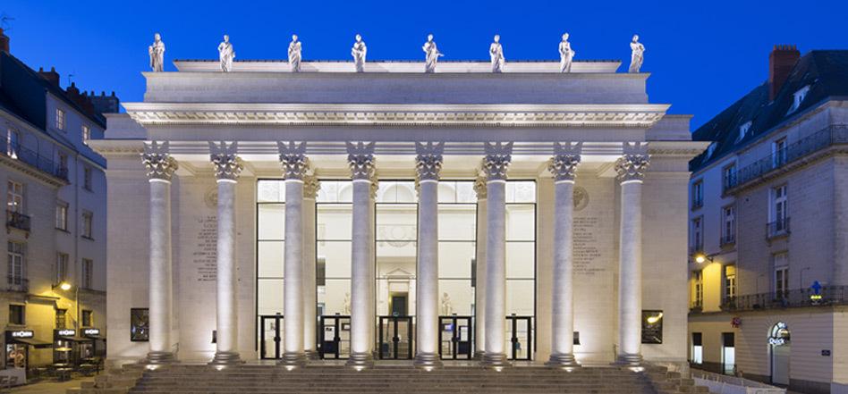 Théâtre Graslin, mise en lumière du patrimoine de Nantes