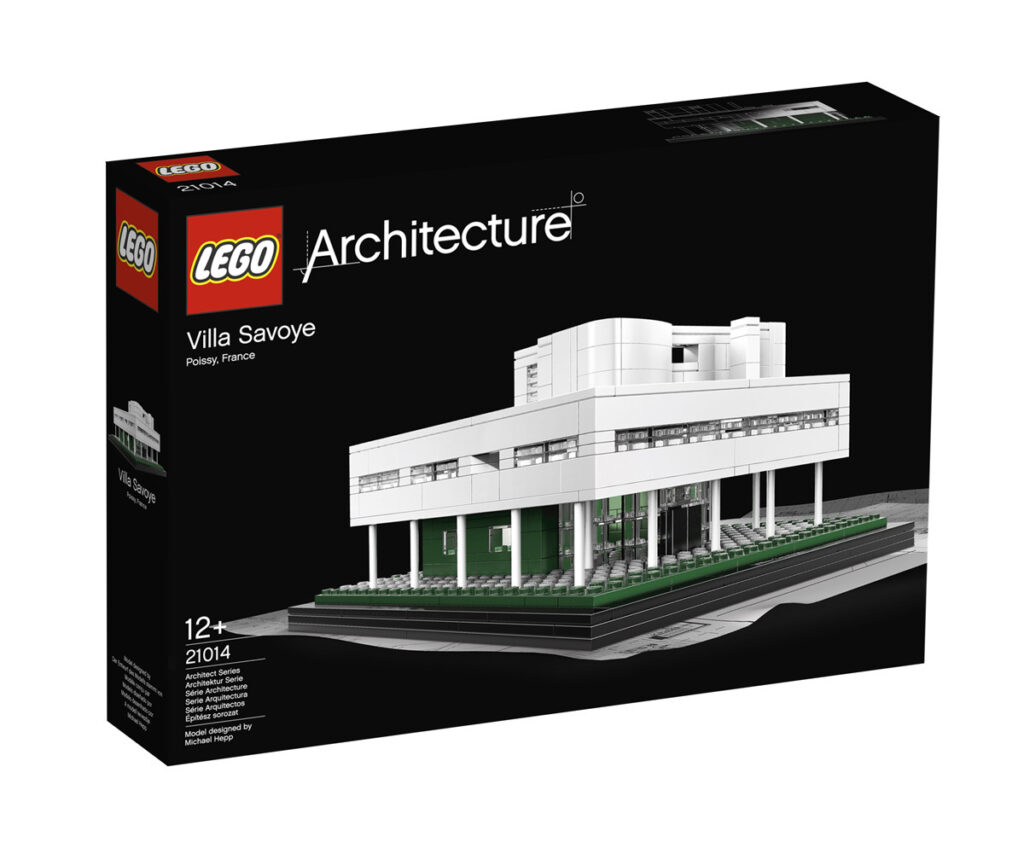 Boite de la Villa Savoye de Le Corbusier à Poissy, France - Artiste : Michael Hepp - Collection : LEGO Architecture