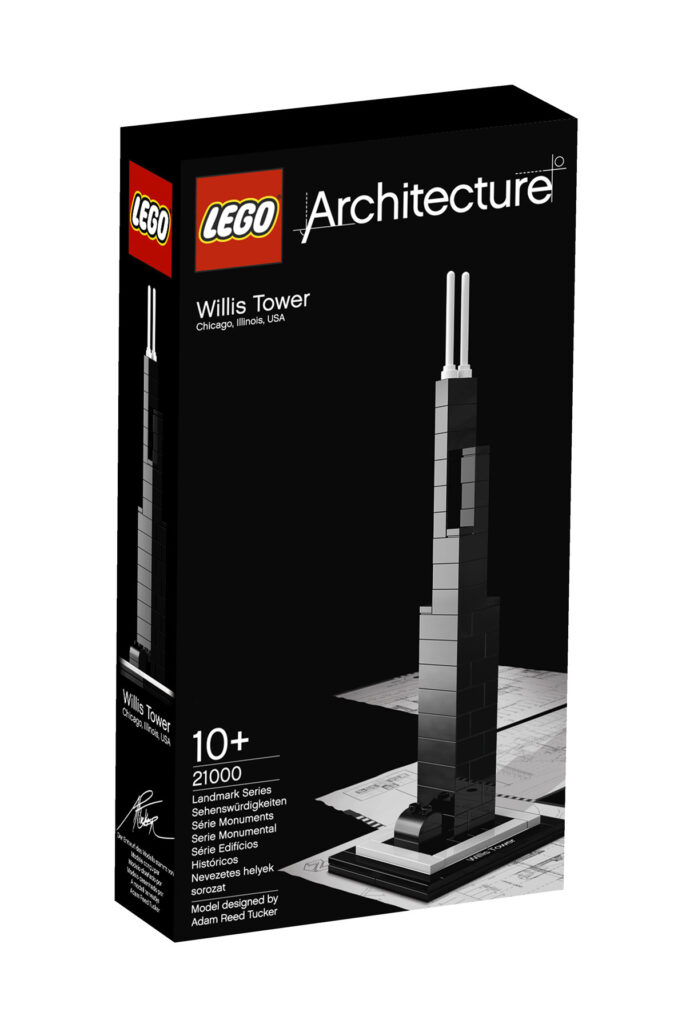 Willis Tower - Collection : LEGO Architecture