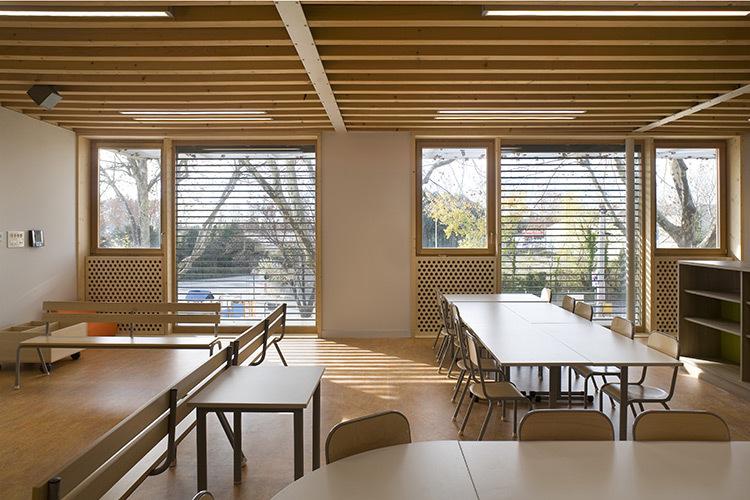 Ecole maternelle Jean Carrière, Nîmes - Photo : Jérôme Ricolleau