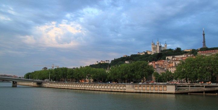 Quais de la Saône, Lyon, France - Photo : Vincent Laganier