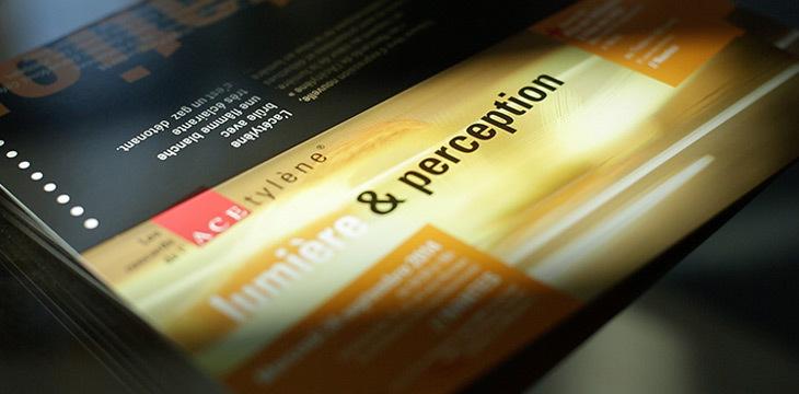 ACE, Lumière et Perception - flyer des Rencards de l'ACEtylene 2014