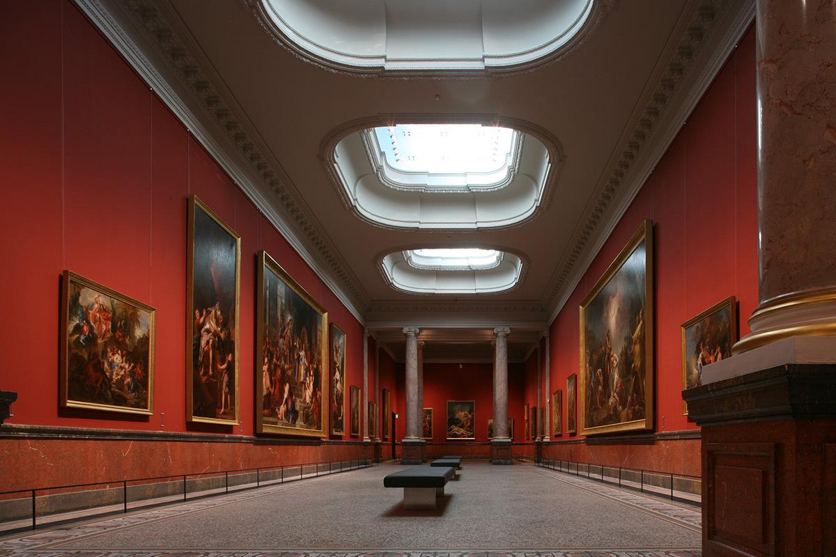 Musée Fabre, Montpellier, France - Architecte Brochet-Lajus-Pueyo, Emmanuel Nebout - Concepteur lumière 8'18'' - Photo Hervé Abadi