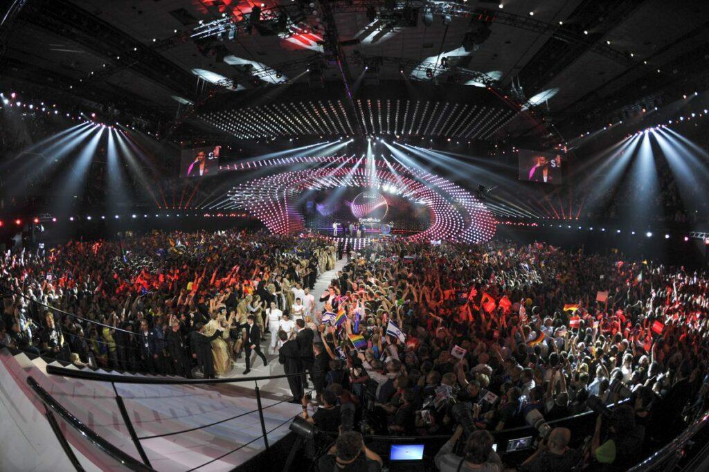 Eurovision 2015 vue d'ensemble de salle © Andres Putting (EBU)