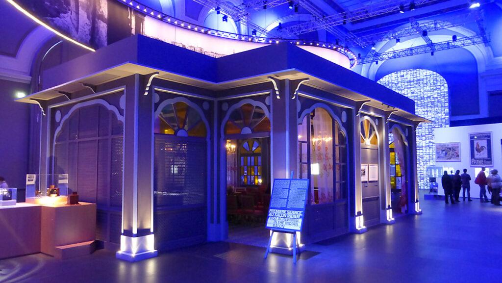 Lumière ! Le cinéma inventé - Salon Indien - Extérieur : Jacques Grange - Photo de l'exposition