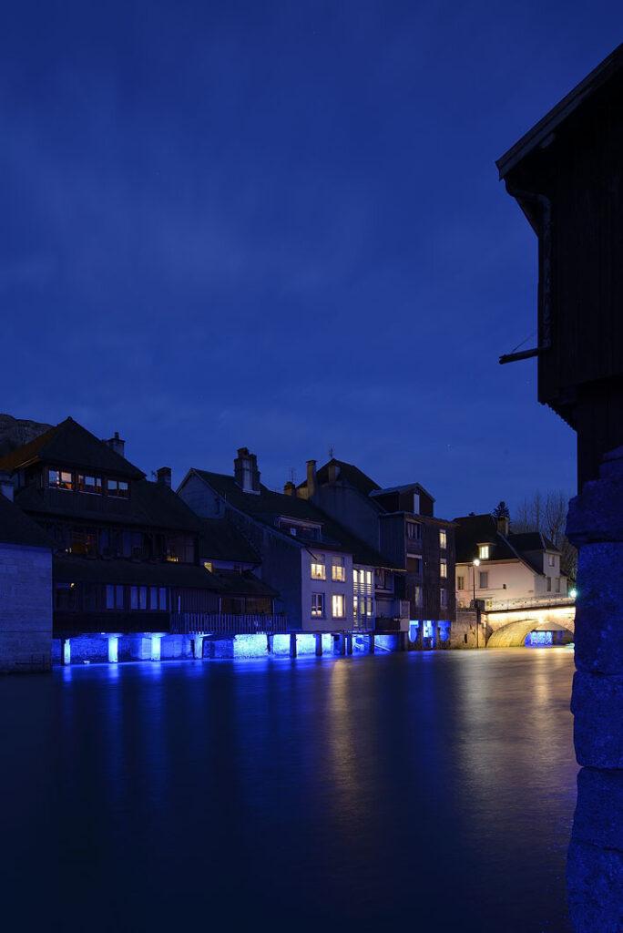 Au pays de Courbet lumières de la Loue à Ornans © LEC Photo Nicolas Waltefaugle