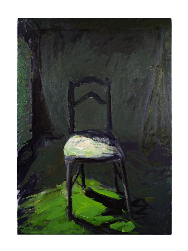 Patrice Giorda, La chaise, 2009, 162 x 114 cm © Gilles Framinet