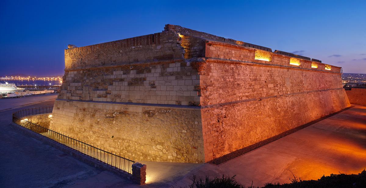 Fort de Victoria, Grande, Melilla, Espagne - Conception lumiere et photo DCI