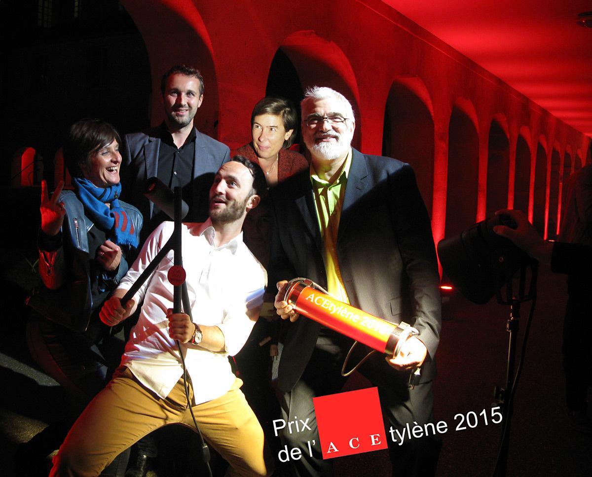 Prix de l'ACEtylène 2015, partenaires fournisseurs - Photo ACE
