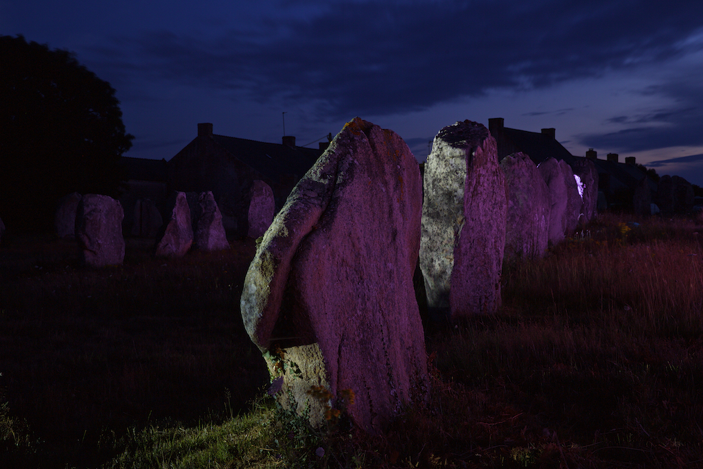 Skedanoz 2015, alignements du Ménec, Carnac - Photo Eric Frotier