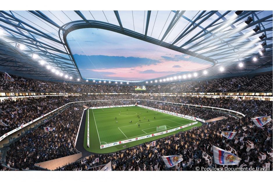Stade des Lumières - Olympique Lyonnais, Lyon - Architecture et image : Populous