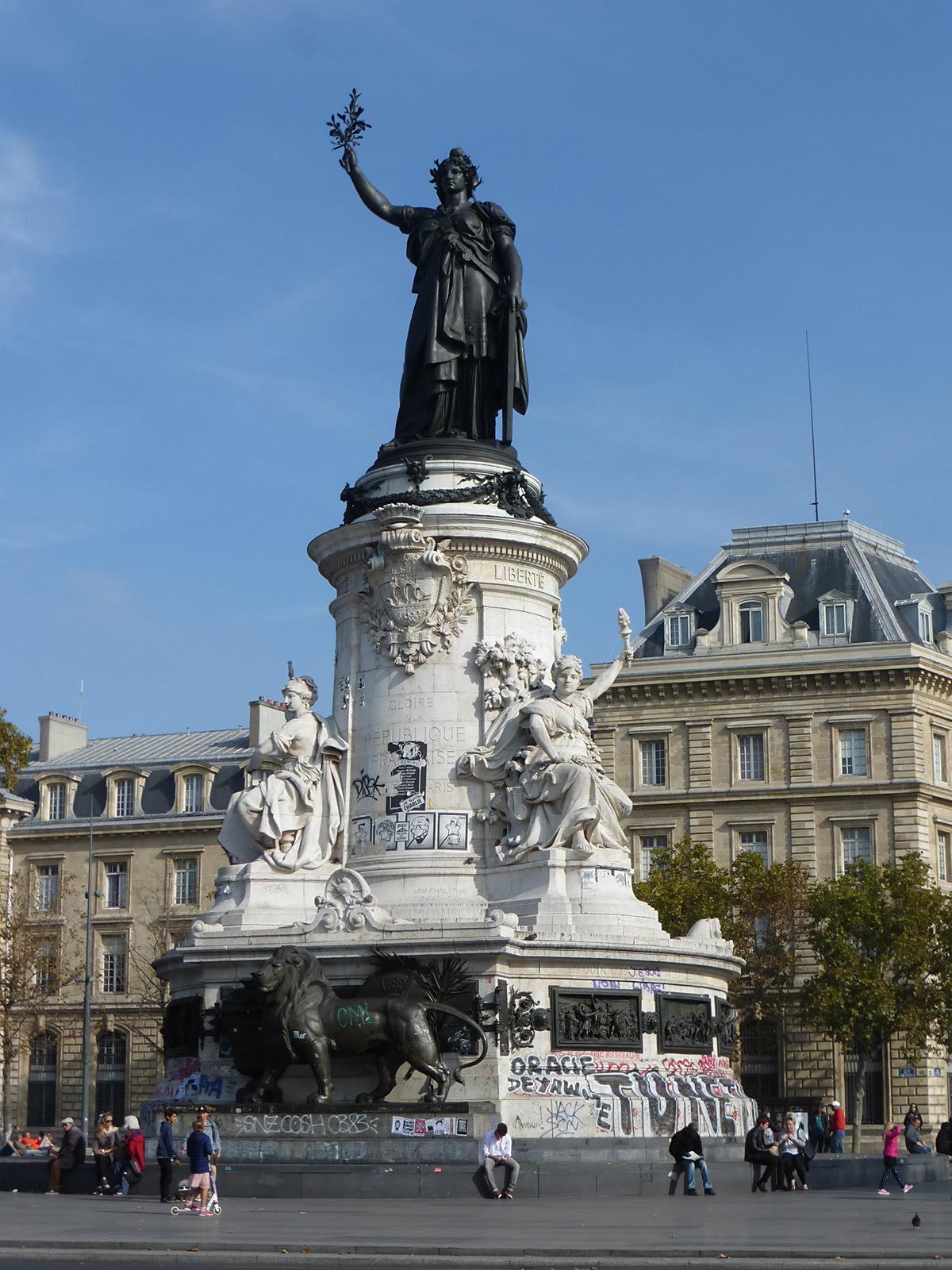 Monument à la République, Paris, France - Photo Vincent Laganier