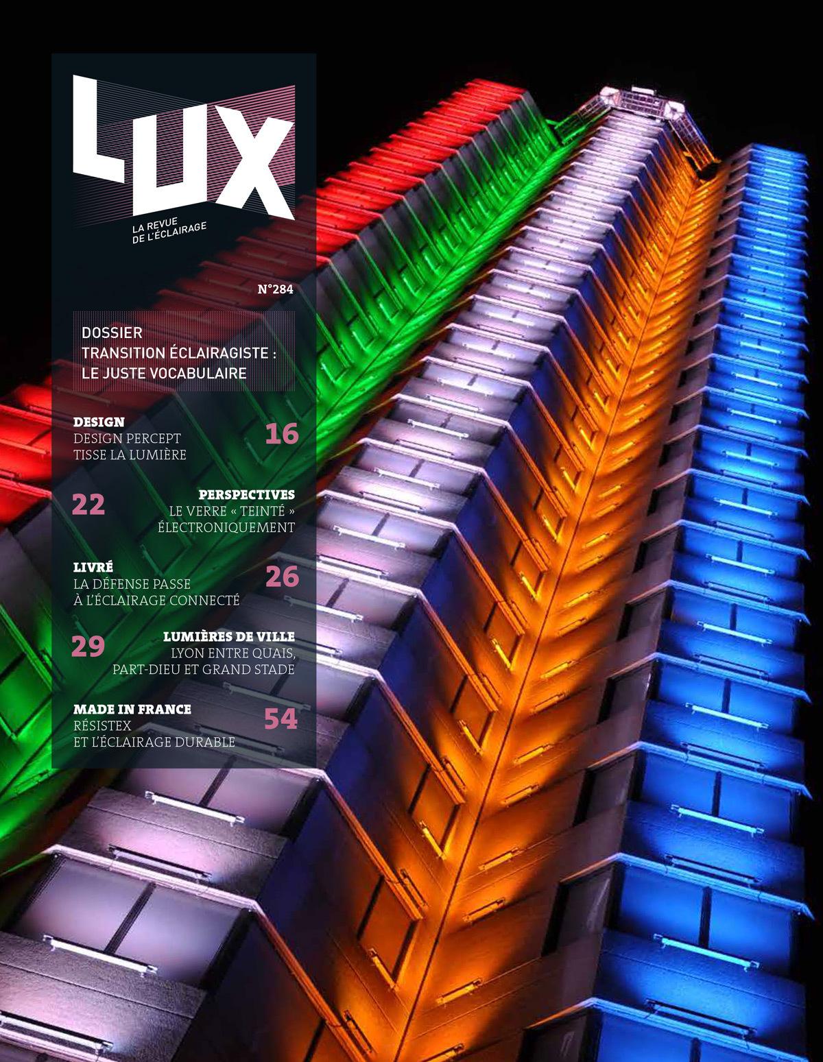 LUX-revue-de-l-eclairage-Novembre-2015-numero-284-couverture
