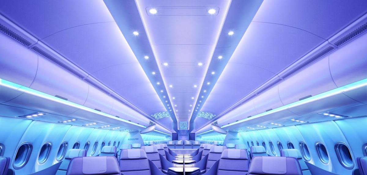 Airbus - Airspace by Airbus dans l'A330neo - Éclairage général © Airbus