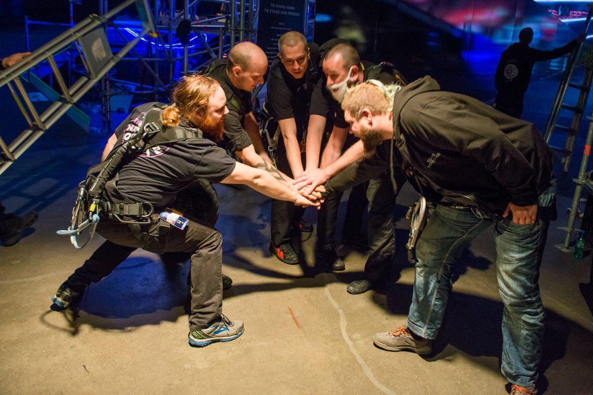 Backstage, Eurovision 2016, Stockholm Globe Arenas, Suede © Photo Anna Velikova (EBU)