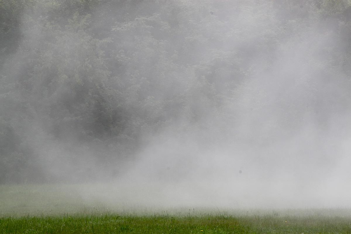 Olafur Eliasson, Fog assembly, 2016 - Château de Versailles, France - Photo : Vincent Laganier