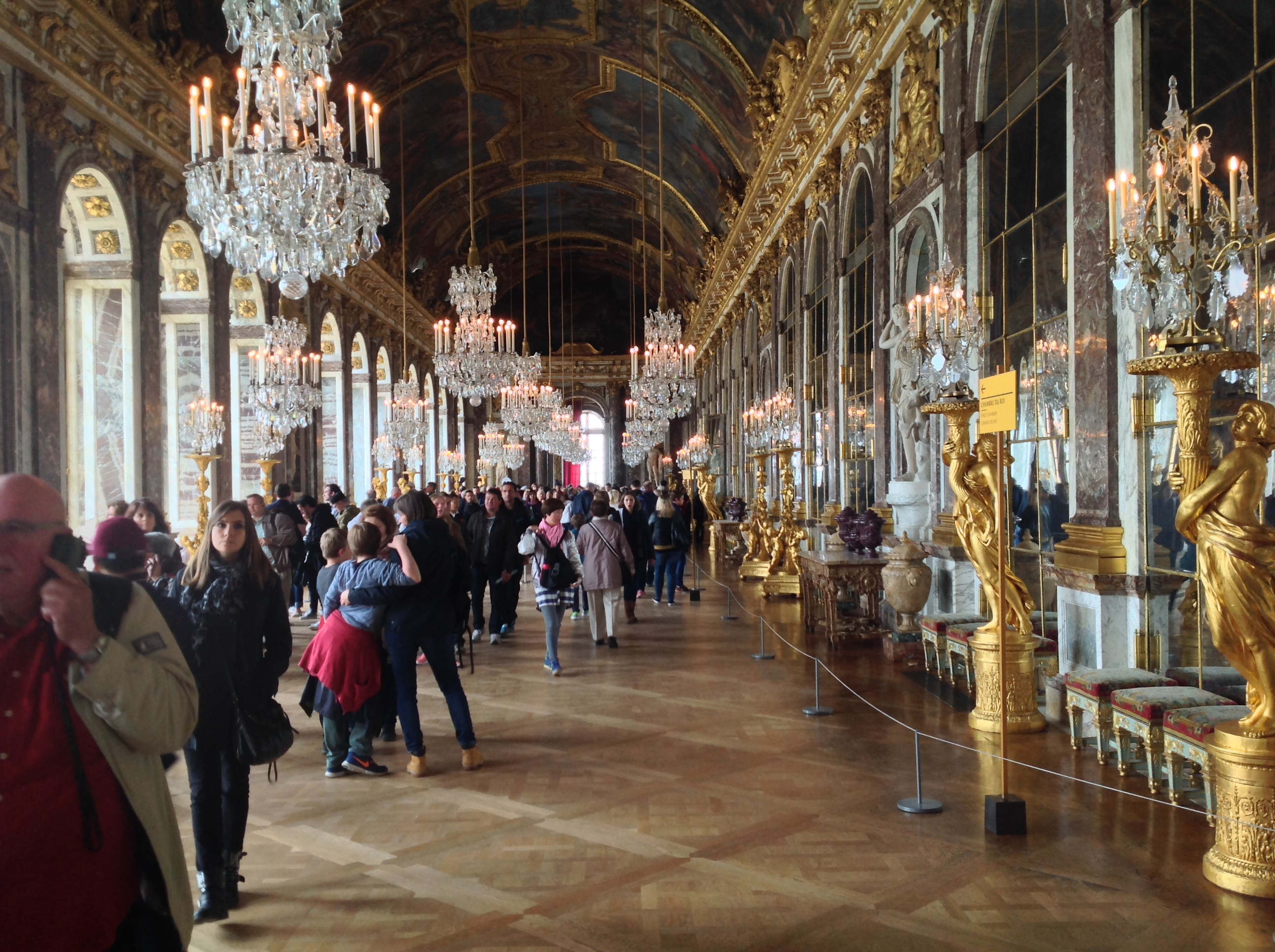 Galerie des glaces, Versailles, France - Photo : Vincent Laganier