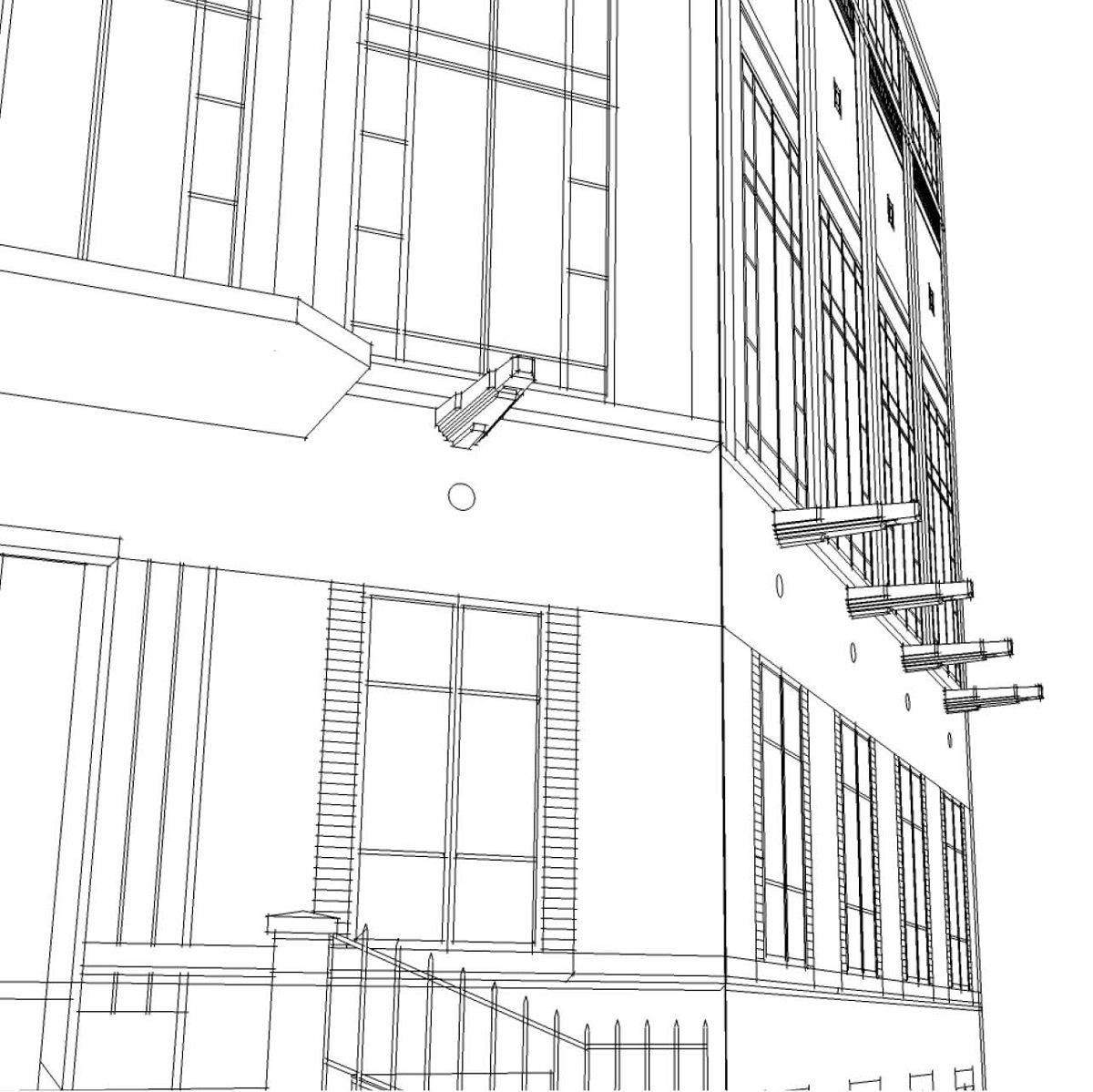Maison des Associations, Vincennes, France - Concepteur lumière et dessin : Stéphane Servant, Atelier S²