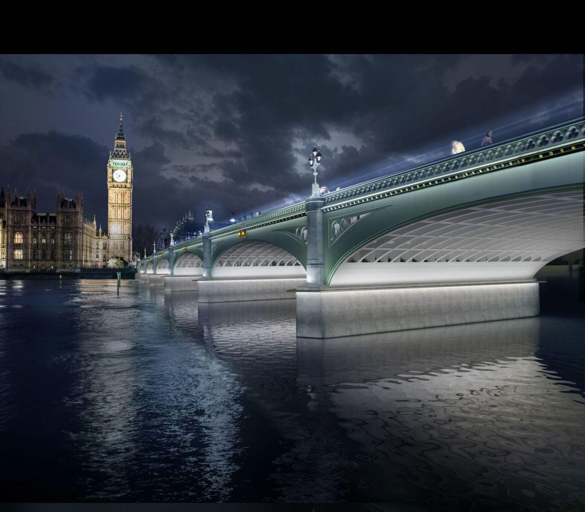Réveil en pleine lumière - Westminster Bridge, London, UK © MRC and Diller Scofidio + Renfro