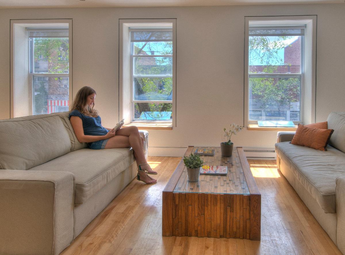 r flecteur espaciel faites entrer la lumi re naturelle. Black Bedroom Furniture Sets. Home Design Ideas