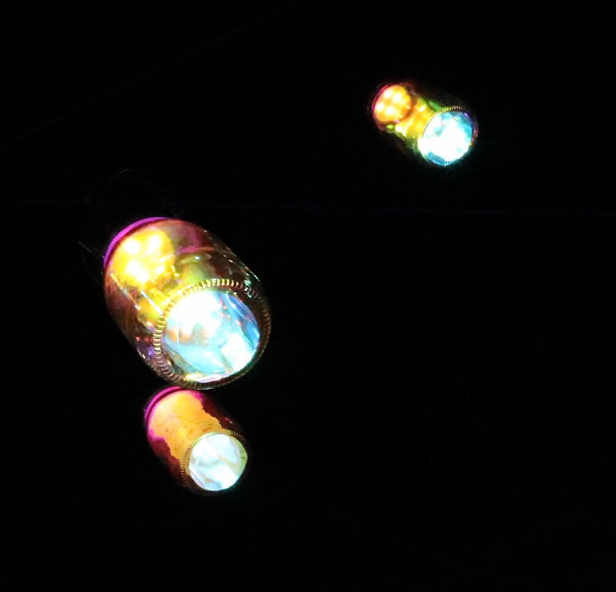Lumières en soi(e), place Rambaud, Lyon, France - Plasticien lumière : Creatmosphere