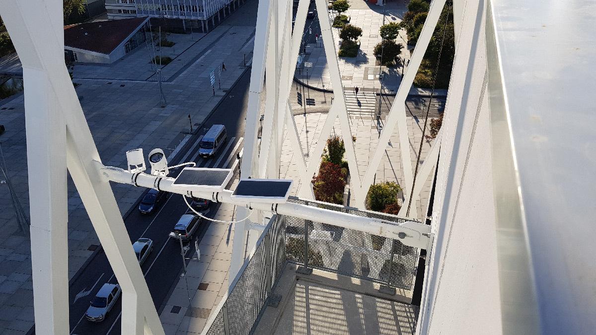 La Pépite, Mons-en-Barœul, France - Architectes : CAAU, EKTIS - Concepteur lumière : Noctiluca - Projecteur : Lumteam - Panneaux solaires : E. Onyx Power © Nowatt Lighting