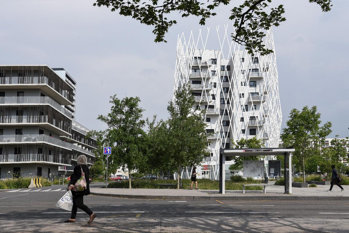 La Pépite, la centralité, Mons-en-Barœul, France - Coldefy & associés Architectes Urbanistes