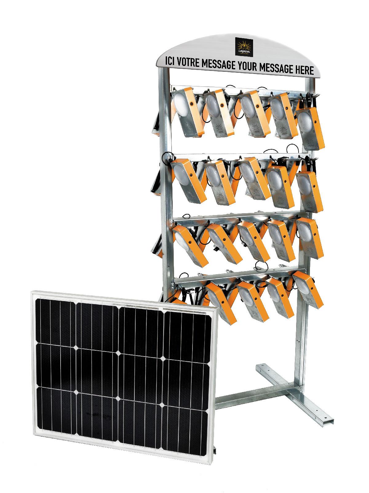 Station de charge solaire © Lagazel