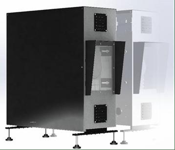 Caisson Vidéoprojecteur Vertical Concept Light CL-VPBOX © Concept Light