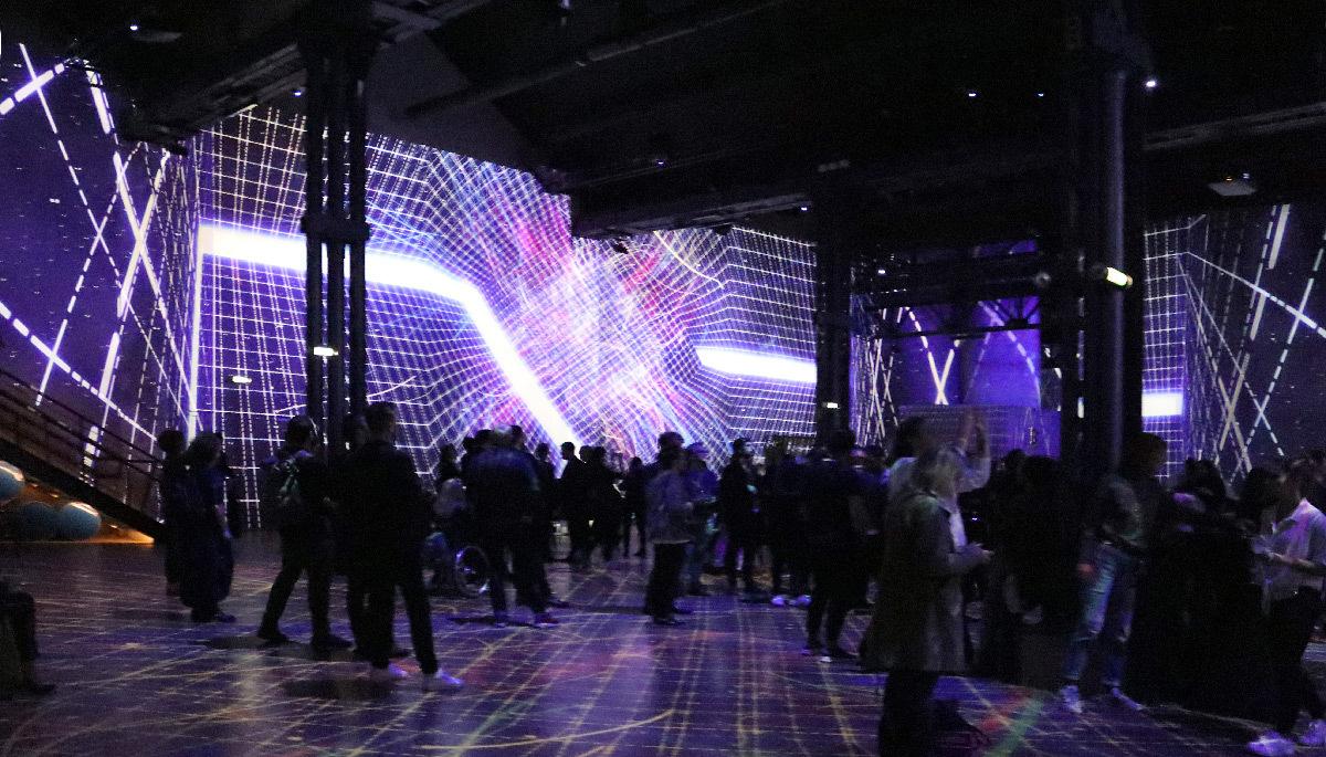 Siderea, Immersive Digital Art Festival Paris 2019, Atelier des Lumières - Créateur vidéo : Superbien © Vincent Laganier