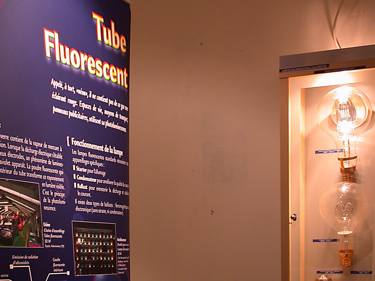 Rêve de Lumières, galerie des Terreaux, Lyon - exposition pédagogique AFE-AMP - Fête des Lumières 2005 © Vincent Laganier