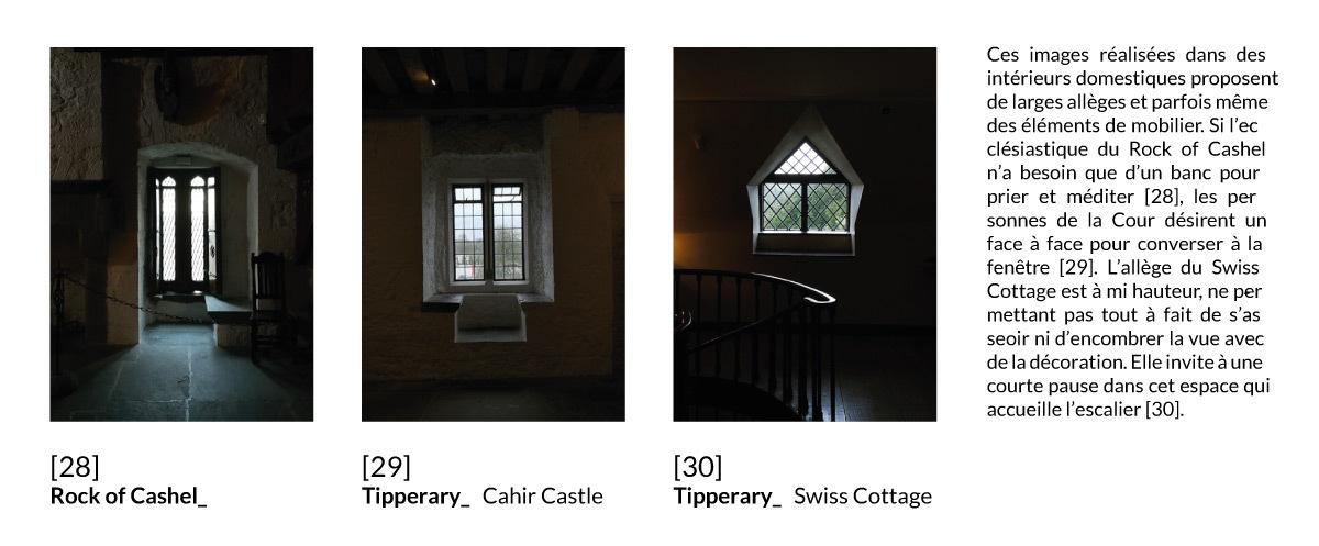 Fenêtre en baie et oriel Irlandais, Irlande