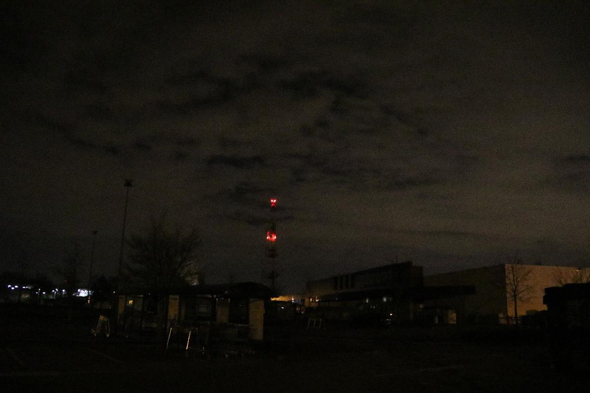 Extinction après cessation de l'activité la nuit