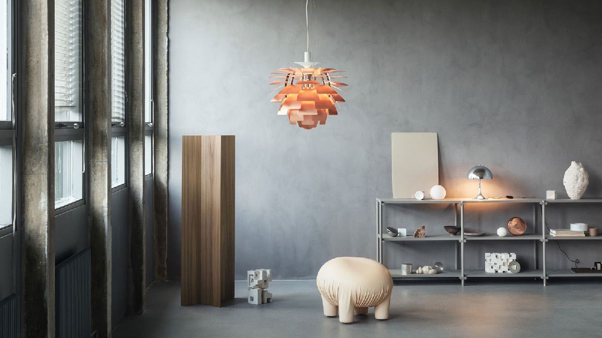 Suspension PH Artichoke - Designer :Poul Hennings