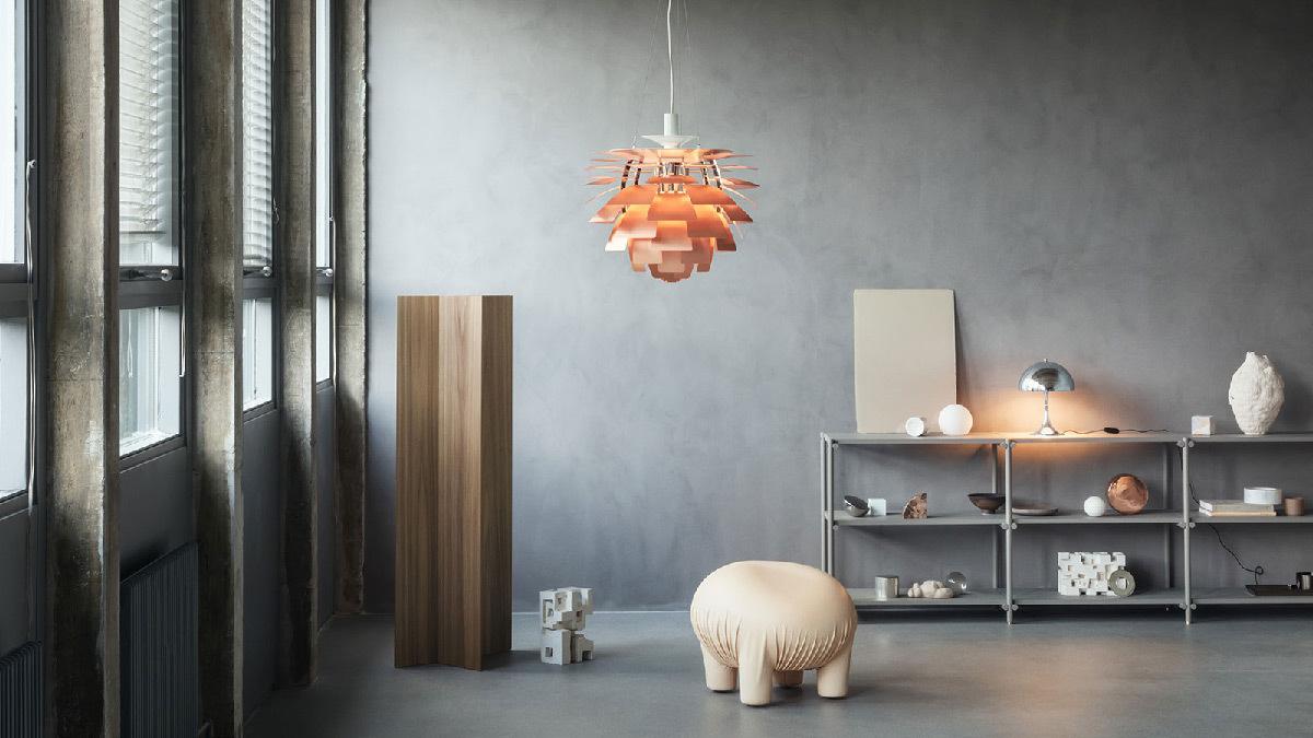 Suspension PH Artichoke - Designer :Poul Hennings