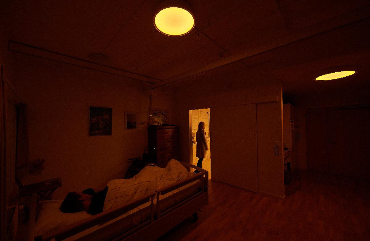 Étude impact de la lumière sur les personnes âgées