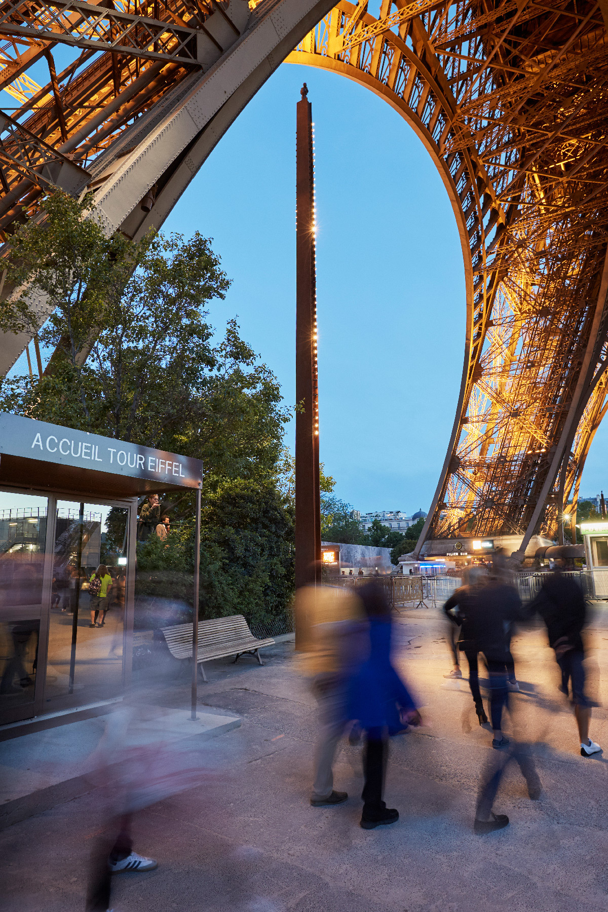 Dietmar Feichtinger Architectes, Agence ON © Julien Falsimagne - Tour Eiffel : SNTE, Pierre Bideau