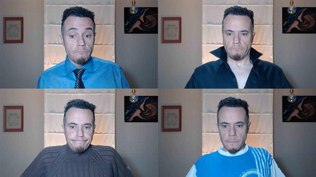 Webinaire, éclairage et vêtements devant une webcam