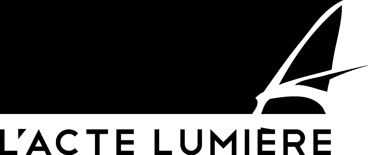 Logo de L'Acte Lumière - Fondateur : Jean-Yves Soëtinck