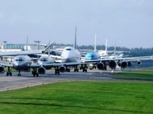 Aeroporto di Fiumicino chiuso per incendio