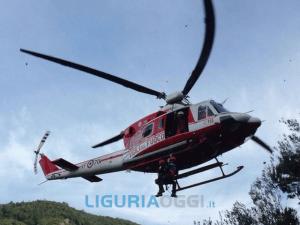 Savona, velivolo precipita tra Piemonte e Liguria