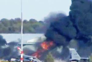 Incidente aereo ad Albacete (Spagna)