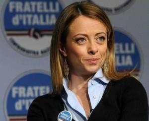 Giorgia Meloni aspetta una bambina