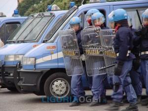Ventimiglia - Sgomberato accampamento migranti
