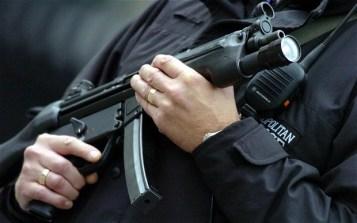 pistola polizia usa